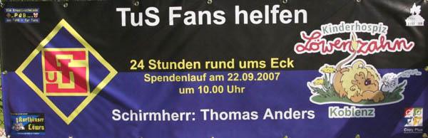 TuS Fans helfen....